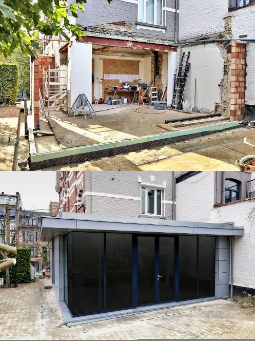 GARAGE CONVERSION INTO ORANGERY
