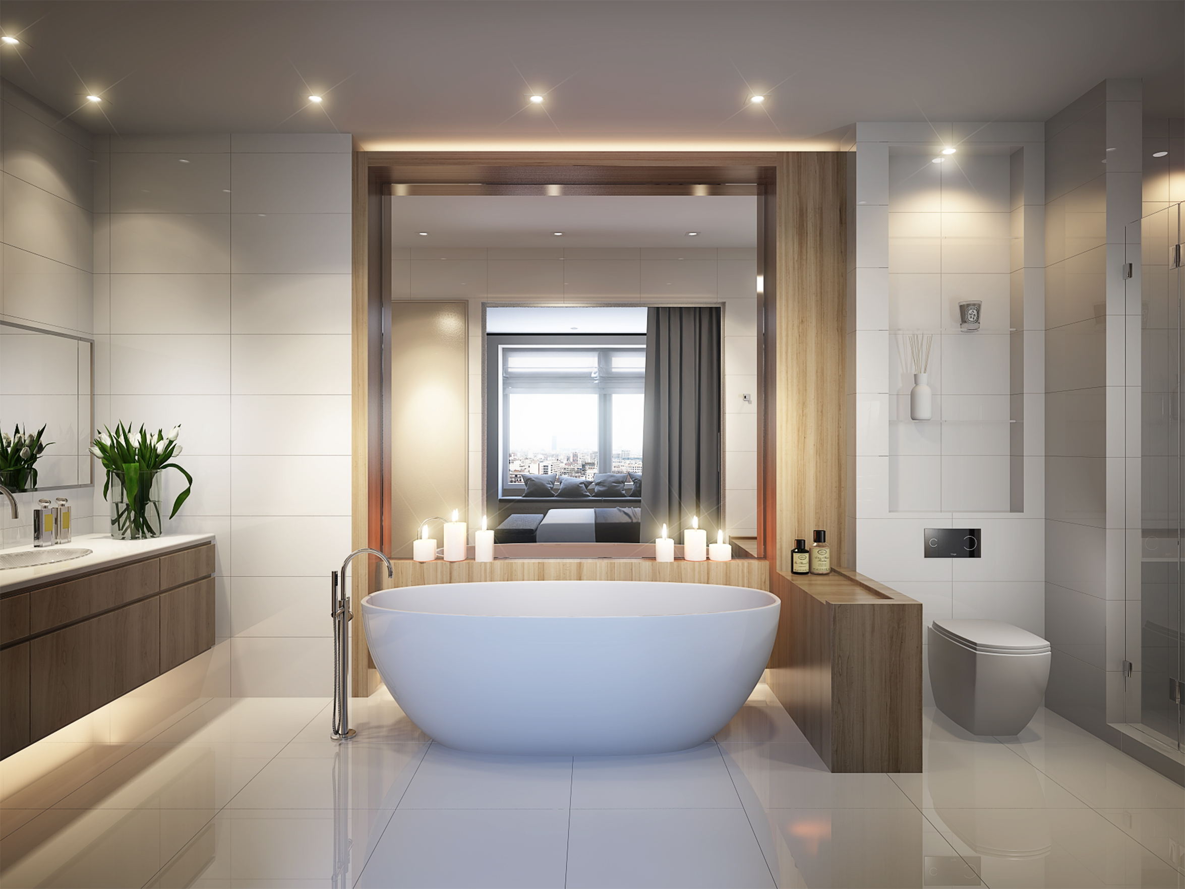 luxury bathroom,disabled wetroom, annexe